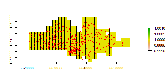 Point pattern analysis — R Spatial